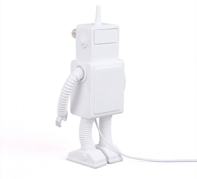 Robot lamp marcantonio raimondi malerba lampe a poser table lamp  seletti 14710  design signed nedgis 97953 product