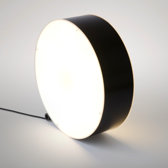Lampe a poser round noir et blanc o70cm h70cm atelier areti normal