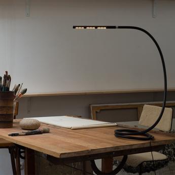 Lampe a poser s7 origin mini noir h40cm structures normal
