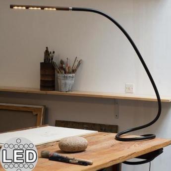 Lampe a poser s7 origin mini noir marron h40cm structures normal