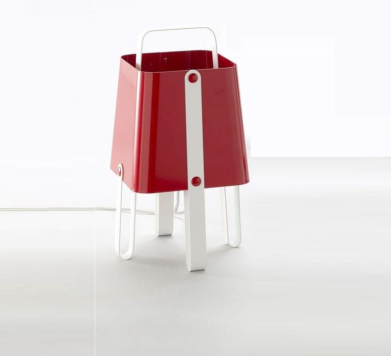 Salopette alberto ghirardello zava salopette lampe carmine red 3002 luminaire lighting design signed 17543 product