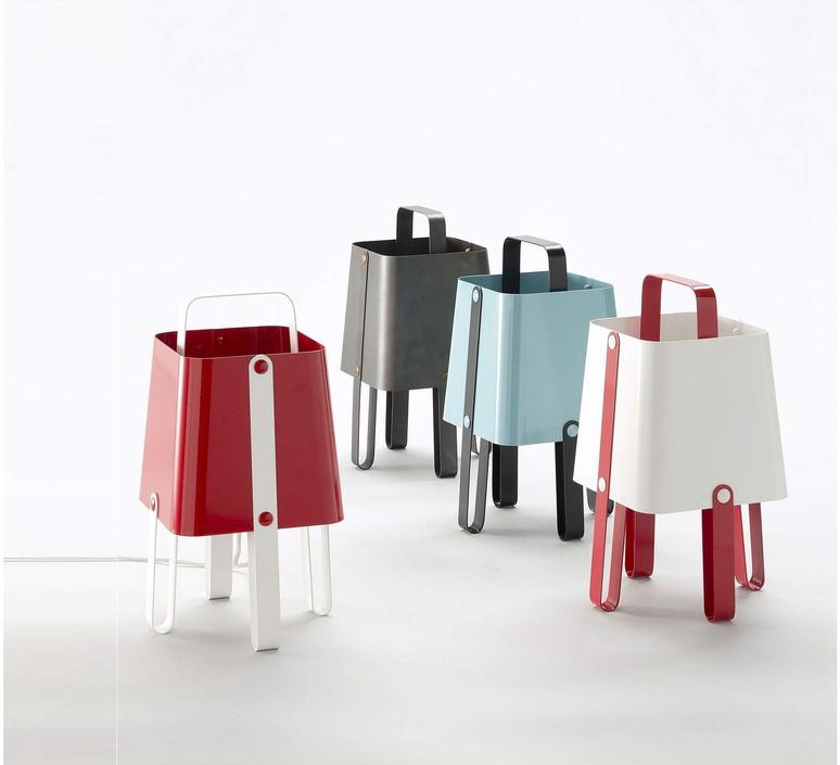 Salopette alberto ghirardello zava salopette lampe carmine red 3002 luminaire lighting design signed 17544 product