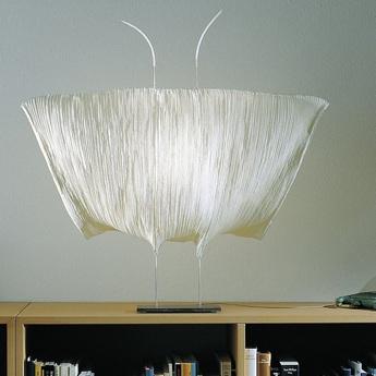 Lampe a poser samurai blanc led 2700k 970lm o70cm h70cm nemo lighting normal