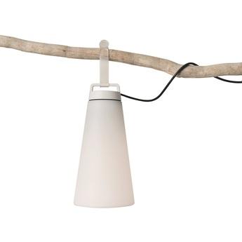 Lampe a poser sasha blanc ip64 3000k 1055lm o21cm h41cm carpyen normal