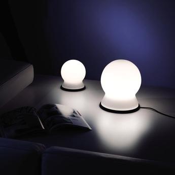Lampe a poser scafandro blanc h26cm martinelli luce normal