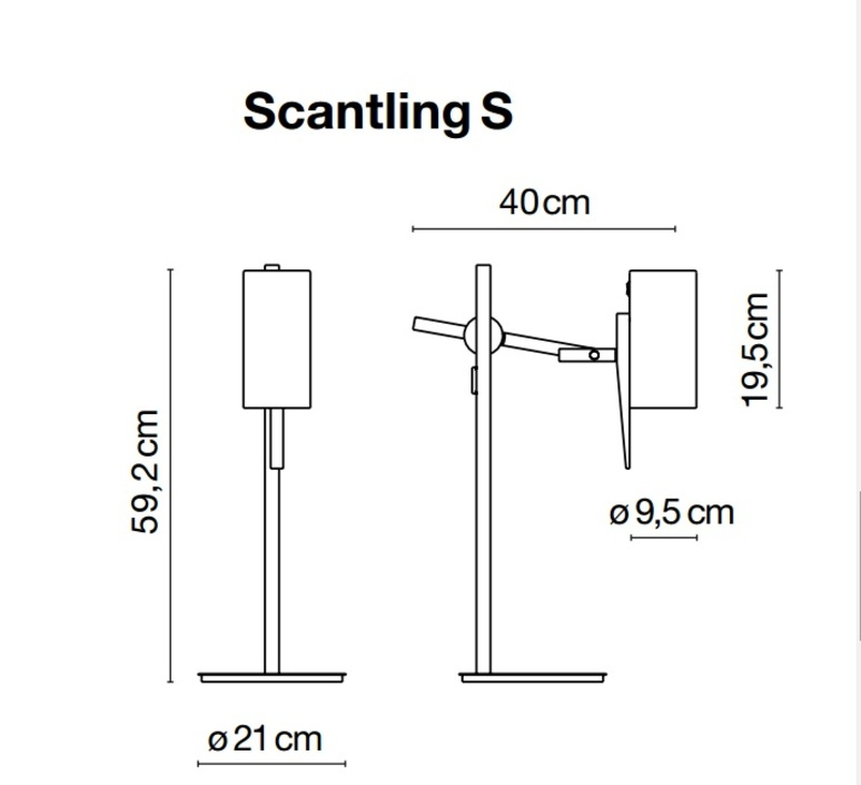 Scantling mathias hahn marset a626 020 luminaire lighting design signed 14305 product