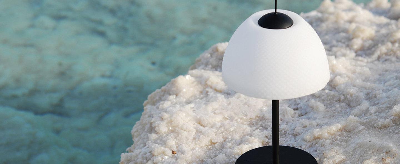 Lampe a poser seasalts table lamp noir led o13cm h28cm nir meiri normal