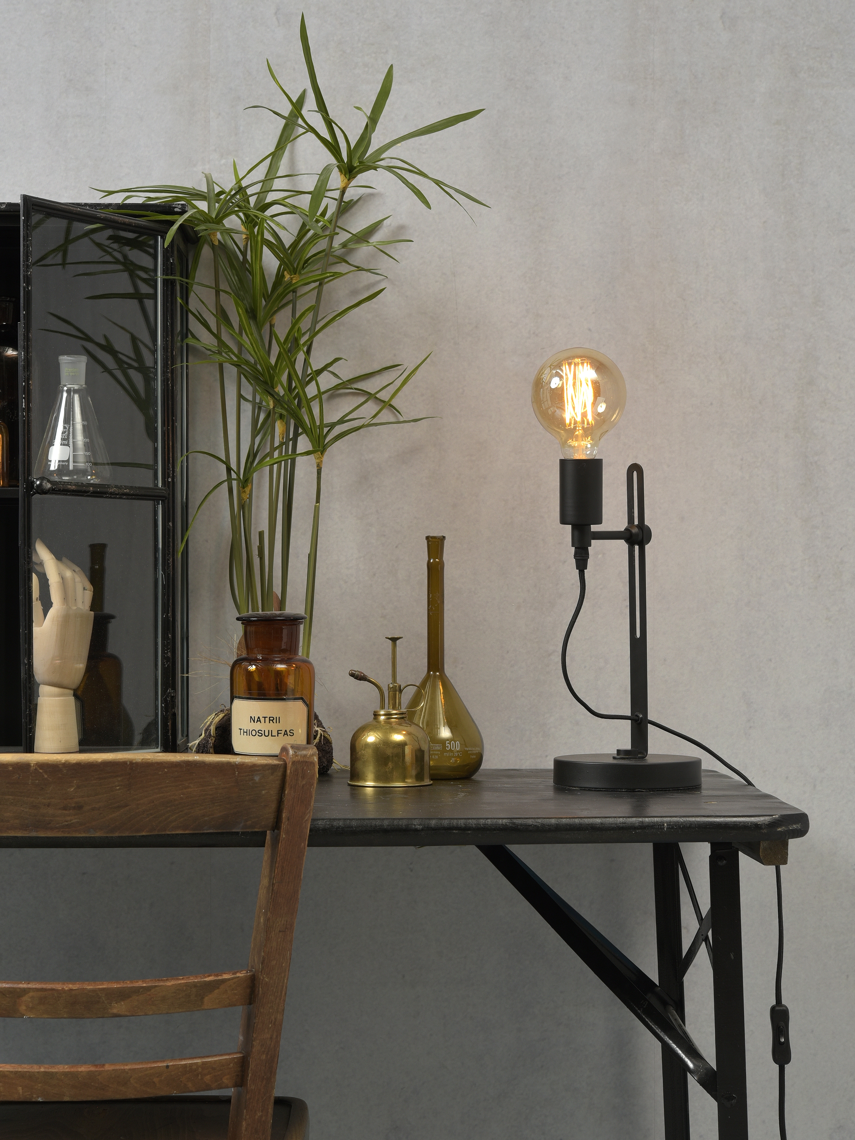 Its About Romi.Table Lamp Seattle T2 B Black O20cm H40cm It S About Romi