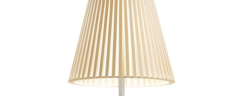 Lampe a poser secto 4220 bouleau naturel led o25cm h75cm secto design normal