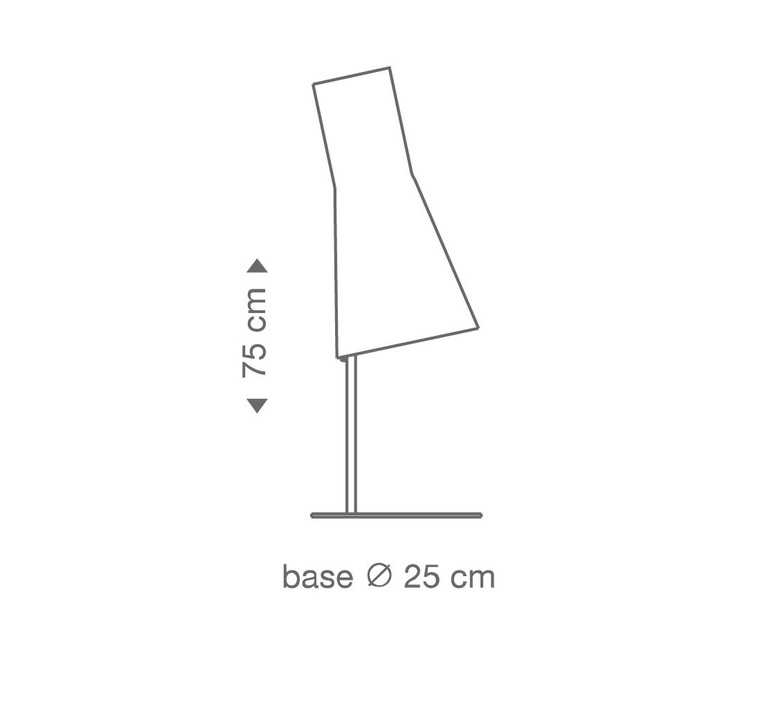 Secto 4220 seppo koho lampe a poser table lamp  secto design 16 4220 21  design signed 42287 product