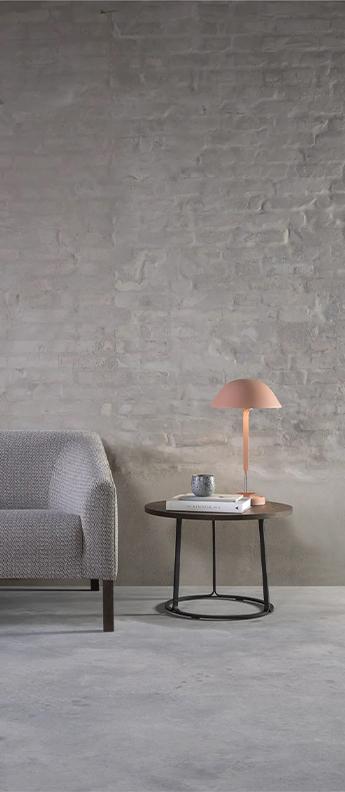 Lampe a poser sempe b rouge beige led 3000k 661lm o28cm h50cm wastberg normal