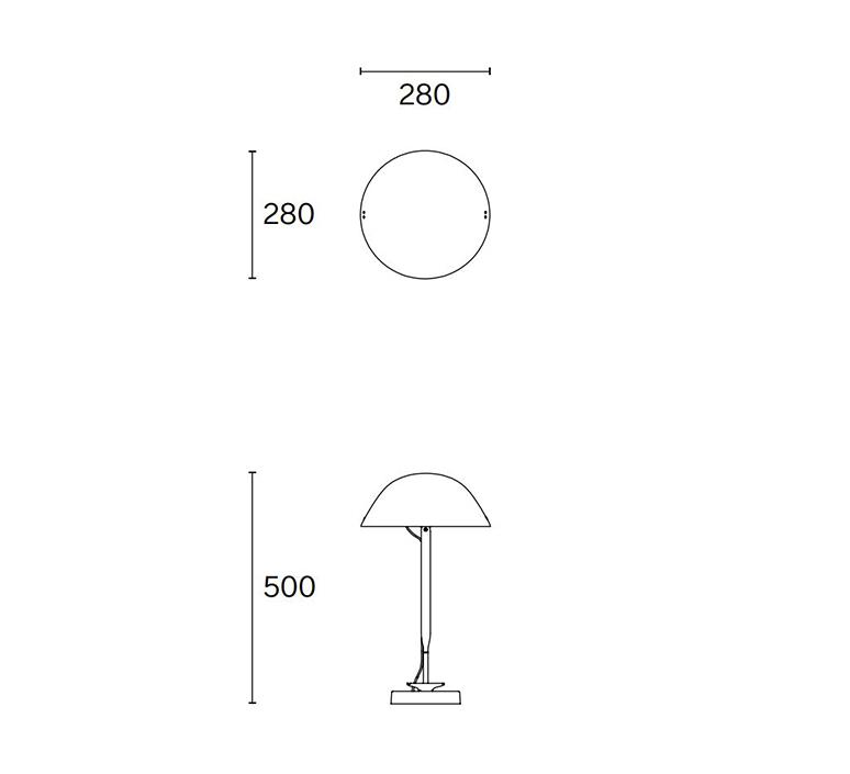 Sempe b inga sempe lampe a poser table lamp  wastberg 103b13012  design signed nedgis 123473 product