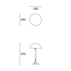 Sempe b inga sempe lampe a poser table lamp  wastberg 103b13012  design signed nedgis 123473 thumb