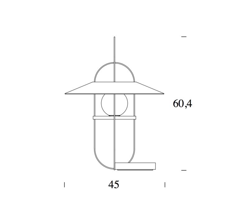 Setareh francesco librizzi lampe a poser table lamp  fontanaarte 4384nn v4381 0n   design signed 39346 product