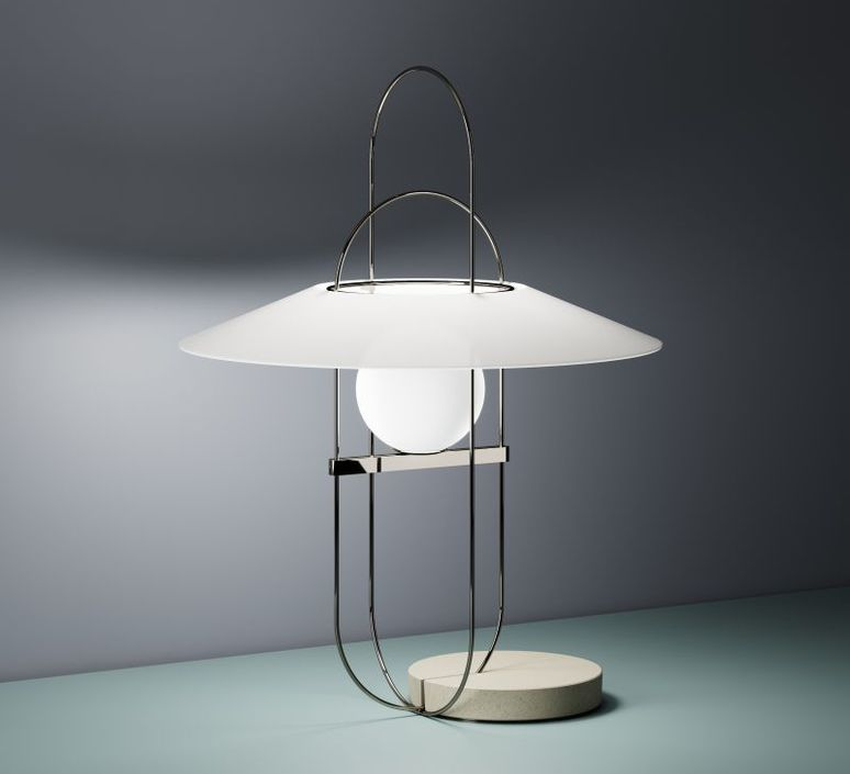 Setareh francesco librizzi lampe a poser table lamp  fontanaarte 4384nn v4381 0n   design signed 39347 product