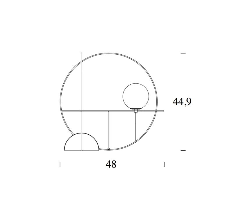Setareh francesco librizzi lampe a poser table lamp  fontanaarte 4401oo   design signed 39344 product