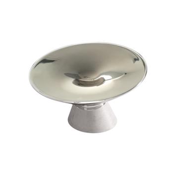 Lampe a poser shen argent led l37cm h24 5cm kundalini normal