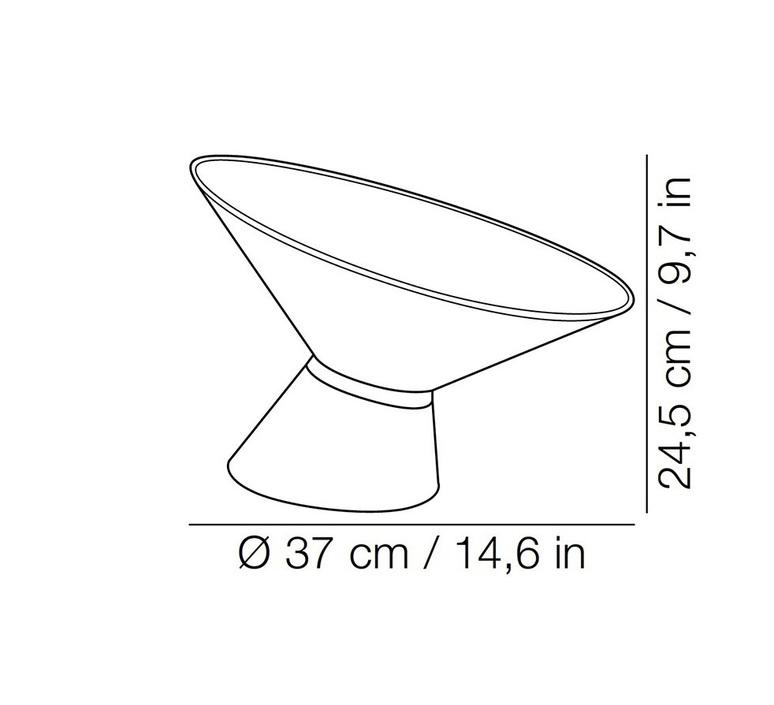 Shen marco merendi lampe a poser table lamp  kundalini k270110v  design signed 49308 product