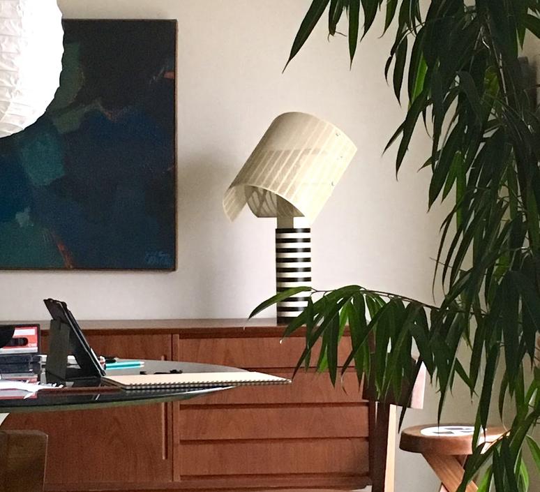 Shogun mario botta lampe a poser table lamp  artemide a000300  design signed 61045 product