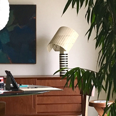 Shogun mario botta lampe a poser table lamp  artemide a000300  design signed 61045 thumb