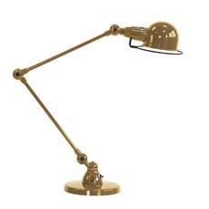Signal 2 bras jean louis domecq lampe a poser table lamp  jielde si333 ral1036  design signed nedgis 94462 thumb