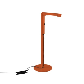 Lampe a poser siptel orange h60cm l22cm fontana arte normal