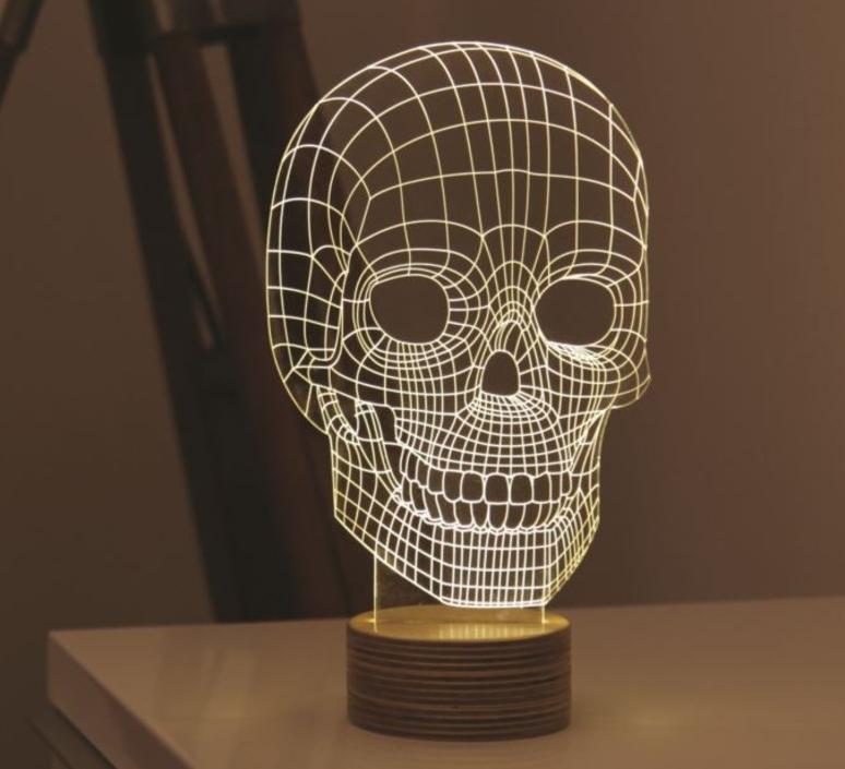 Skull nir chehanowski studio cheha 1640 sk luminaire lighting design signed 27890 product
