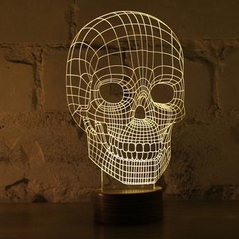 Table Lamp Skull Led H23cm Studio Cheha Nedgis Lighting