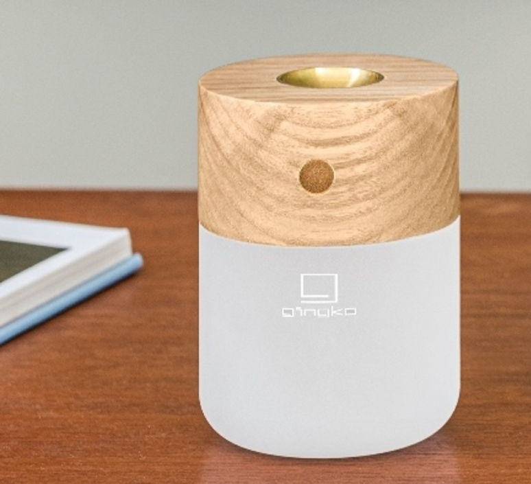 Smart diffuser lamp ash wood studio gingko lampe a poser table lamp  gingko g017ah  design signed nedgis 112394 product