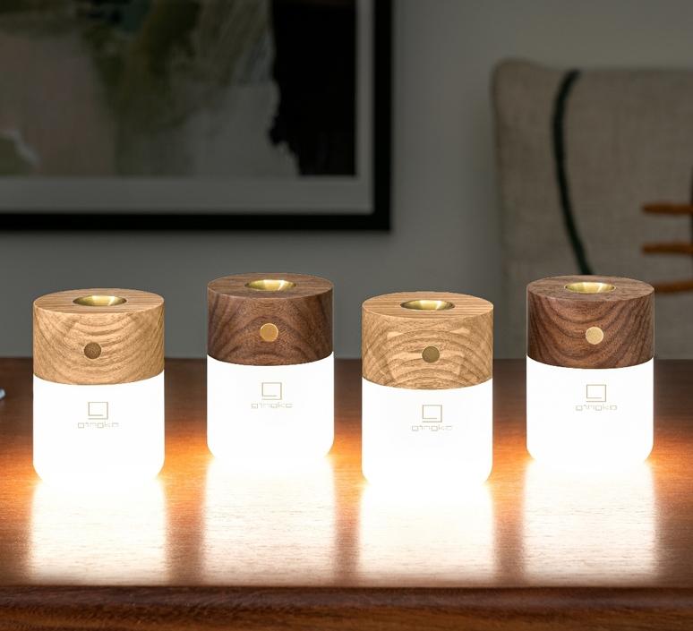 Smart diffuser lamp ash wood studio gingko lampe a poser table lamp  gingko g017ah  design signed nedgis 112396 product