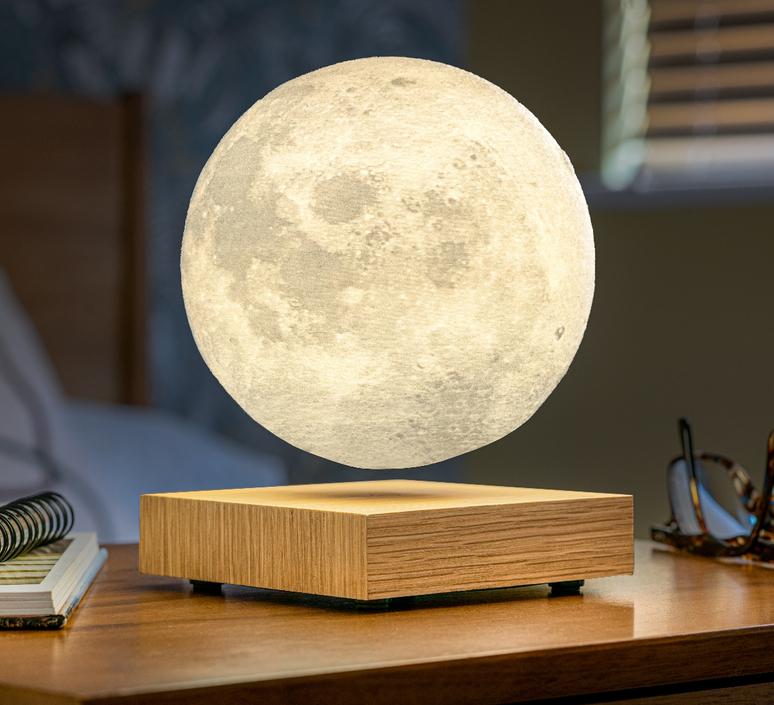 Smart moon lamp ash wood  studio gingko lampe a poser table lamp  gingko g019ah  design signed nedgis 112383 product