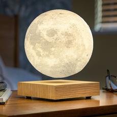 Smart moon lamp ash wood  studio gingko lampe a poser table lamp  gingko g019ah  design signed nedgis 112383 thumb