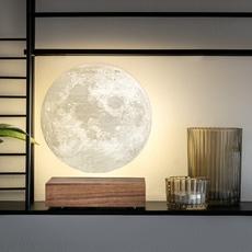 Smart moon lamp walnut wood  studio gingko lampe a poser table lamp  gingko g019wt  design signed nedgis 112380 thumb