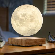 Smart moon lamp walnut wood  studio gingko lampe a poser table lamp  gingko g019wt  design signed nedgis 112381 thumb