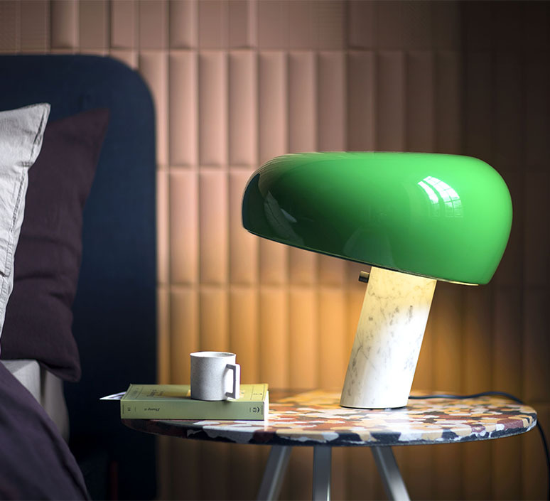 Snoopy achille castiglioni lampe a poser table lamp  flos f6380039  design signed nedgis 98117 product