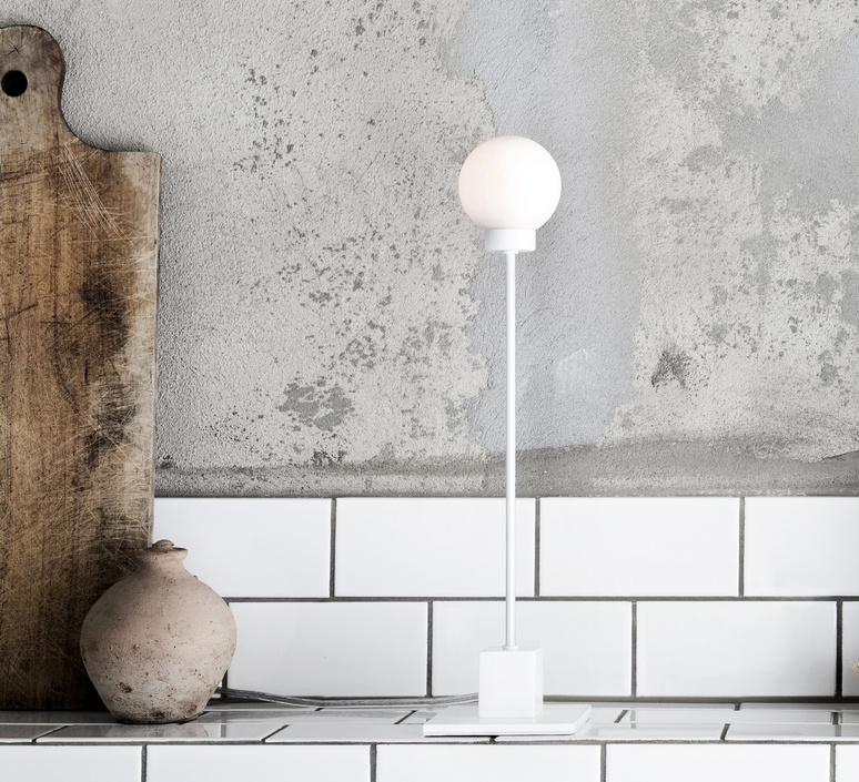 Snowball trond svendgard lampe a poser table lamp  northern lighting 121  design signed 30791 product
