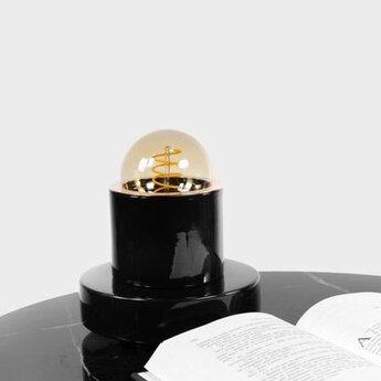 Lampe a poser soho noir o16cm h17cm casalto normal