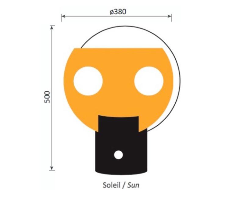 Soleil jean louis avril lignes de demarcation soleil luminaire lighting design signed 23587 product