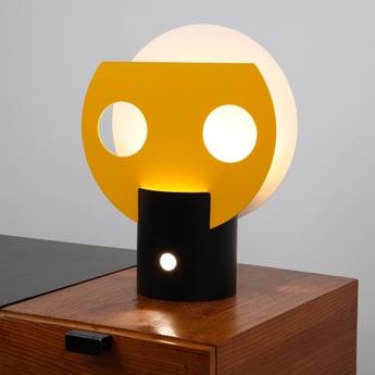 Lampe Lampe Lampe À PoserSoleilJauneNoirBlancH50cm À Lignes De À Lignes De PoserSoleilJauneNoirBlancH50cm OPwiuTZkX