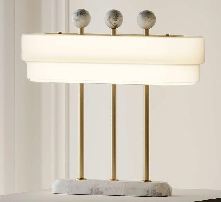 Spate robbie llewellyn et adam yeats lampe a poser table lamp  bert frank spate tl carrara  design signed nedgis 94418 product