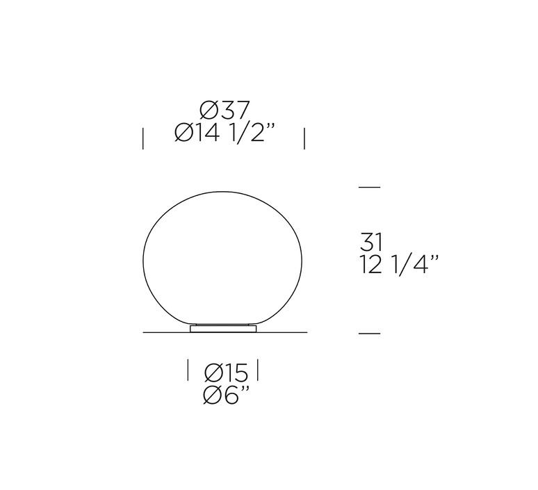 Sphera t 3 37 matteo thun lampe a poser table lamp  leucos 0004081  design signed nedgis 93151 product
