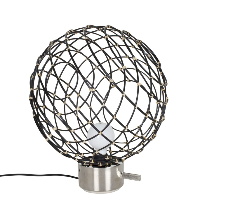 Sphere bambo l arik levy lampe a poser table lamp  forestier 20920  design signed 42789 product