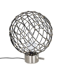Sphere bambo l arik levy lampe a poser table lamp  forestier 20920  design signed 42789 thumb