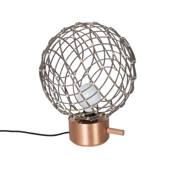 Sphere bambo m arik levy lampe a poser table lamp  forestier 20913  design signed 42782 product