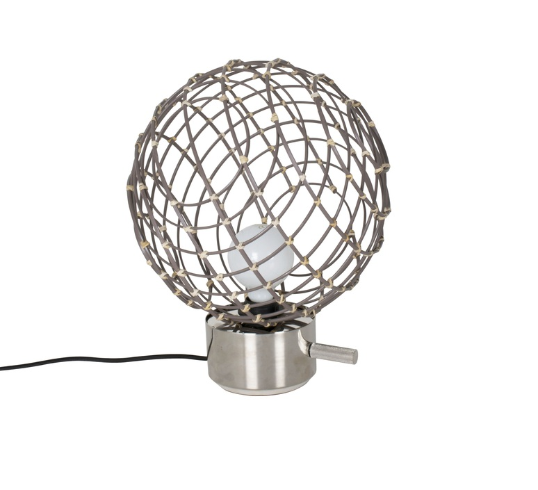 Sphere bambo m arik levy lampe a poser table lamp  forestier 20917  design signed 42774 product