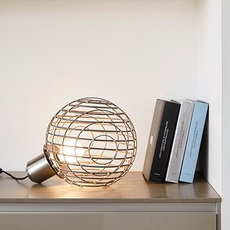 Sphere bamboo l arik levy lampe a poser table lamp  forestier 20928  design signed 42710 thumb