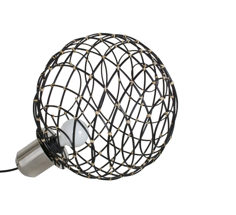 Sphere bamboo l arik levy lampe a poser table lamp  forestier 20928  design signed 42733 product