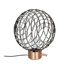 Sphere bamboo l arik levy lampe a poser table lamp  forestier 20916  design signed 42690 thumb
