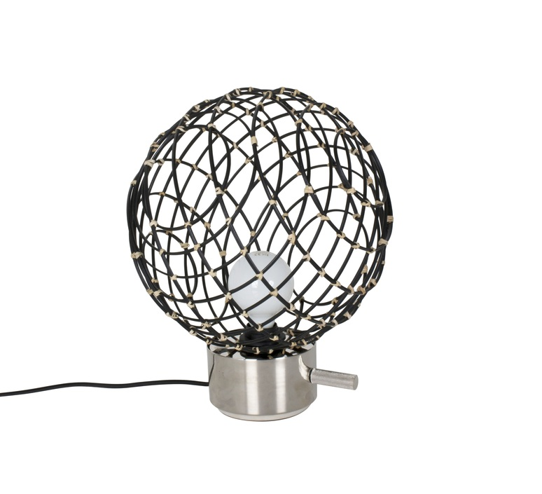 Sphere bamboo m arik levy lampe a poser table lamp  forestier 20918  design signed 42779 product