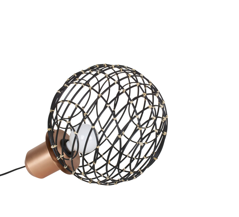 Sphere bamboo m arik levy lampe a poser table lamp  forestier 20922  design signed 42731 product